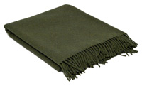Bracken Green Blanket